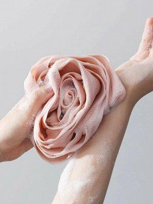Пенящийся шарик для ванны в форме розы