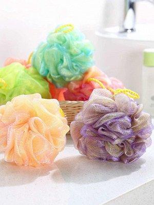 1шт пенящийся шарик для ванны случайного цвета