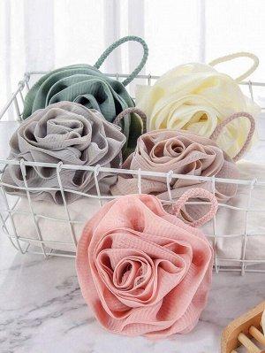 1шт случайный пенящийся шарик для ванны в форме розы