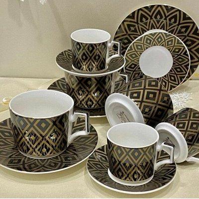 Посуда и декор, которые нравятся всем-40. Много красоты! — Фарфор. Сервизы и наборы для кофе — Посуда для чая и кофе