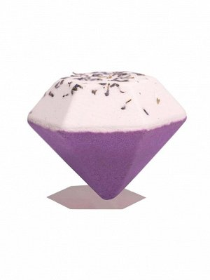 Ромбовидная бомба для ванны с ароматом лаванды - 100g