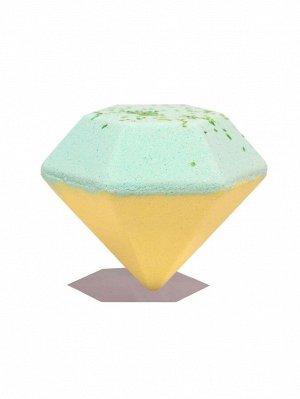 Бомба для ванны с ароматом жасмина и османтуса в форме ромба-100g