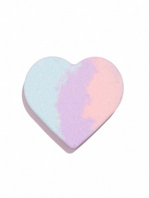 Трехцветная бомба для ванны в форме сердца с ароматом мороженого-100г