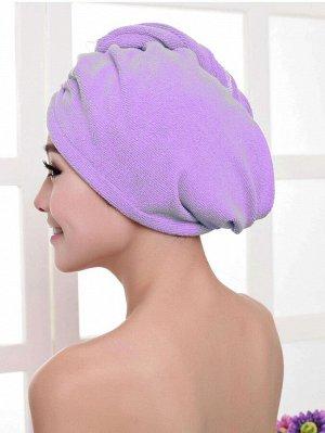 1шт шапочка для сушки волос