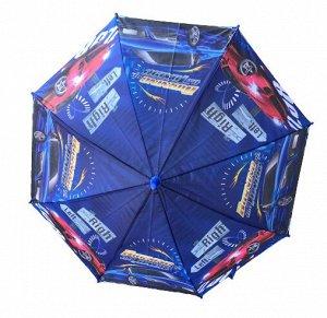 Зонт детский полуавтоматический45см со свистком