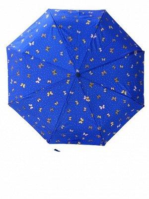 Автоматический женский зонт бабочки