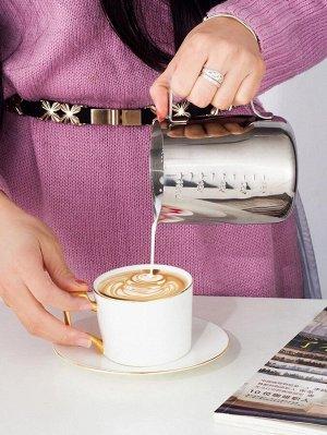 1шт 600ml кофейник из нержавеющей стали