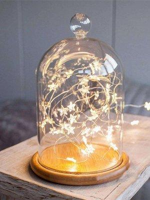 1шт 2м лампочная гирлянда без стеклянной крышки