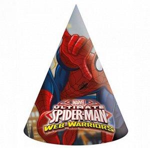 Колпак бумага Человек - паук Великий набор 6 шт