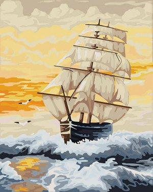 Алмазная живопись - мозаика Волна