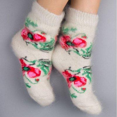 ТМ *РусБубон*. Шапочек много не бывает — Женские шерстяные носки — Носки