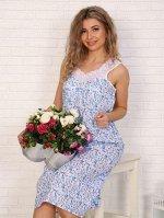 Сорочка ночная женская,модель 4031,ситец (Весна)