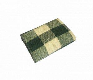 Одеяло п/ш 100*140см. Плотность 400 г/м2 (Мадрид, изумрудный)