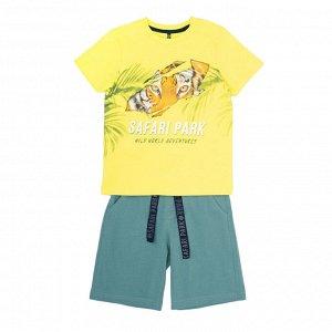 КР 2744 к292 Комплект для мальчика (яркий лимон, зеленая полынь)