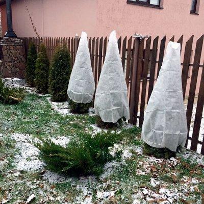 Сибирские грядки и все для сада 🌾. Укрывные чехлы — Чехлы укрывные для растений
