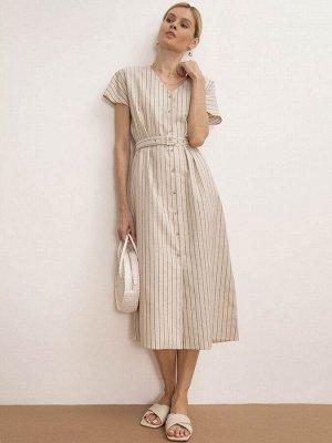 Платье в полоску PL1180/wide