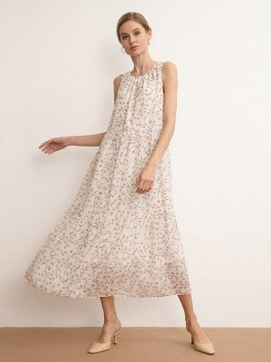 Платье с цветочным принтом PL1143/primavera