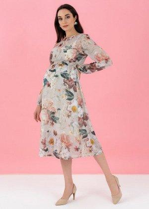 """Платье """"Малика"""" для беременных; бежевый"""