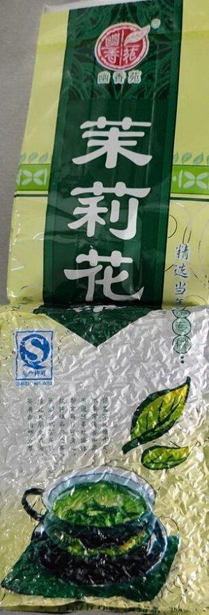 Зеленый чай с натуральными цветками жасмина 250 гр