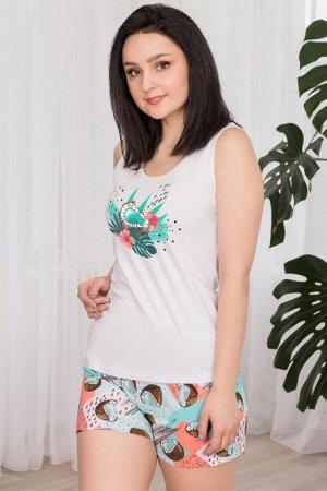 Пижама (майка+шорты), арт. 0734-14
