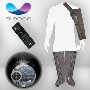 """Комплект """"Ноги XL + рука"""" лимфодренажного массажера для прессотерапии Gapo Alance Choco Brown"""