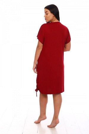 Туника Ткань: Вискоза; Размеры: 50, 52, 54, 56, 58; Цвет: Красный