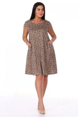 Платье Ткань: Кулирка; Состав: 100% хлопок; Размеры: 42, 44, 46, 48, 50, 52