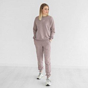 Костюм женский свитшот+брюки 'Капучино' р.42-48