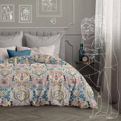 Сонное царство. Майская акция на покрывала! Новые комплекты — Евро комплекты постельного белья — Спальня и гостиная