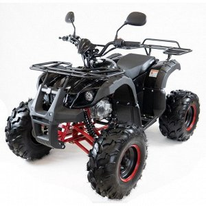 Квадроцикл бензиновый MOTAX ATV Grizlik Super LUX 125 cc NEW, черно-красный, электростартер, родительский контроль