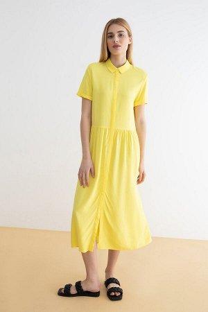Платье жен. Linma желтый
