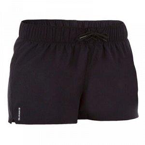 Шорты Женские короткие бордшорты для занятий любыми водными видами спорта с эластичным поясом на шнурке, носятся поверх купальника.