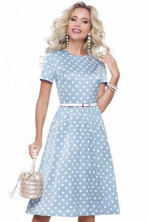 Платье Красотка, скай