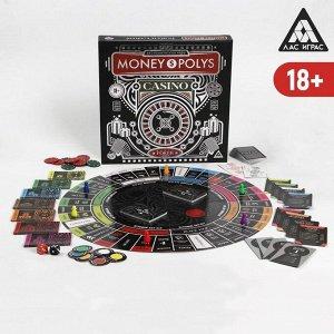 Экономическая игра «MONEY POLYS. CASINO», 18+