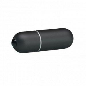 Вибро-пуля черная Mini Vibe (10 режимов)