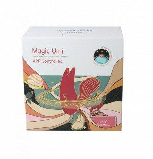 Клиторально-вагинальный стимулятор Magic Motion Umi (10 режимов) синхронизируется со смартфоном
