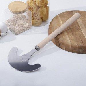 Тяпка для капусты «Берёзка», 40?17?2,5 см, нержевеющая сталь