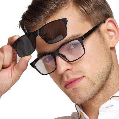Солнцезащитные очки с поляризованными линзами StyleMark — Clip-On. Очки с солнцезащитным клипоном — Очки и футляры