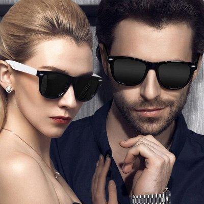 Солнцезащитные очки с поляризованными линзами StyleMark — Унисекс — Очки и футляры