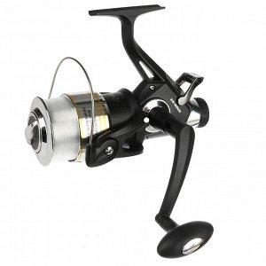 Катушка безынерционная AZOR FISHING KR 6000, байтраннер, c леской 0,35мм
