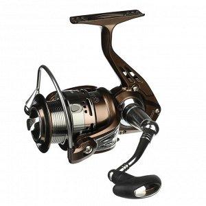 Катушка безынерционная AZOR  FISHING MG 200, 6+1 п.п, передний фрикцион, металл.шпуля