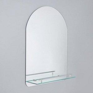 Зеркало в ванную комнату Ассоona A628, 60?45 см, 1 полка