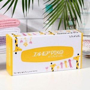 Бумажные салфетки Kami Shodji Ellemoi Piko, 2 слоя, упаковка 160 шт.