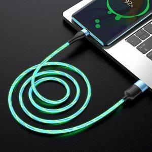 """Кабель HOCO USB на Type-C """"U85 Charming night"""" зарядка и передача данных"""
