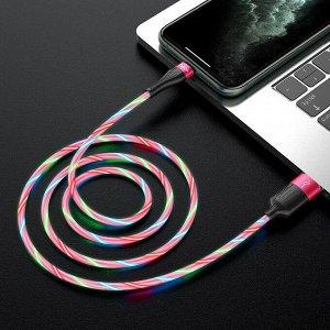 """Кабель HOCO USB на Lightning """"U85 Charming night"""" зарядка и передача данных"""