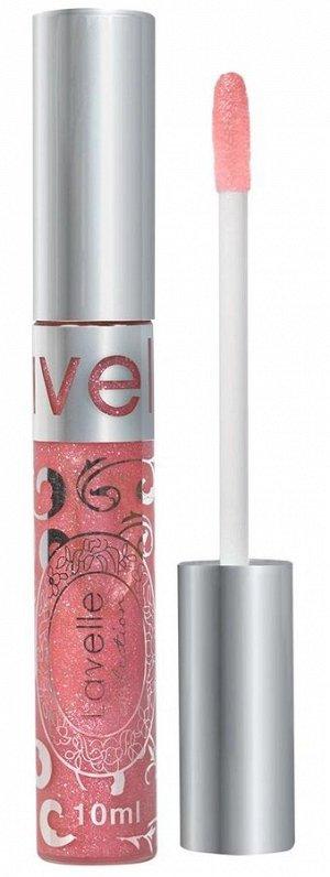 .Лавель блеск  для губ LIP GLOSS SILVER  NEW 47искр роз-крем