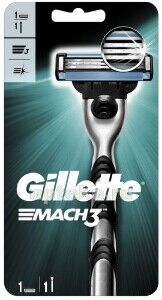 GILLETTE MACH3 Бритва с 1 сменной кассетой