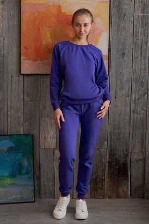 Костюм со свитшотом К 085 (Фиолетовый)