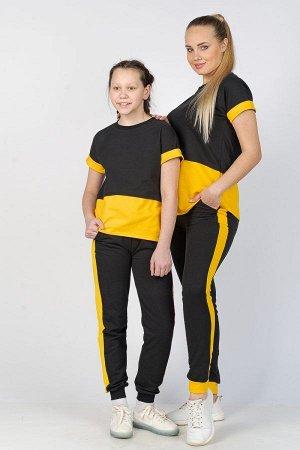 Костюм спортивный К 062 (Желтый)