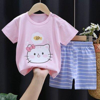 ✅Распродажа трикотажа. Костюмы, футболки, пижамы, белье
